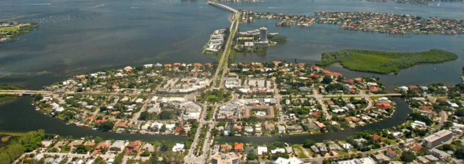St Armands neighborhood